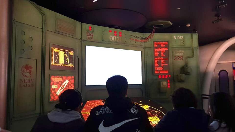 briefing evangelion vr ride universal studio japan osaka