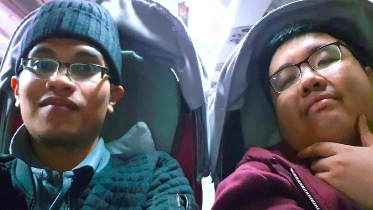 didalam bus willer express