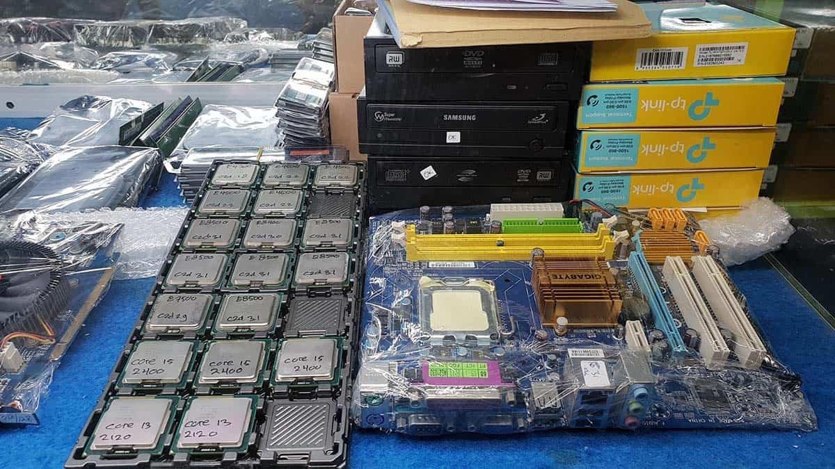 indocomtech 2018 promo sale mobo prosesor bekas