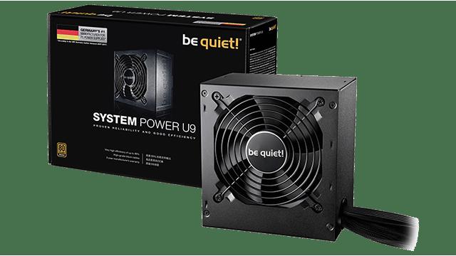 power supply untuk pc gaming be quiet u9 (bequiet.com)