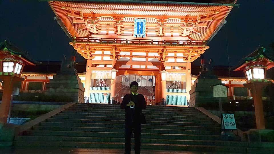 kuil di fushimi inari kyoto