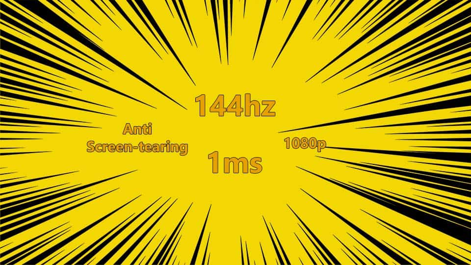 ilustrasi monitor gaming murah 144hz